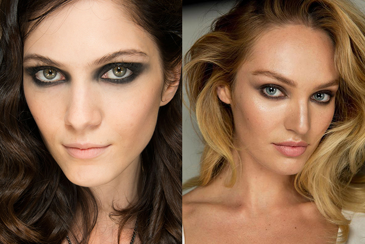 Beauticate loves backstage makeup looks at Guy Laroche and Diane Von Furstenberg