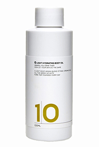 10G Light Hydrating Body Oil $34.95 / 100mL