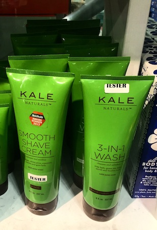 For the truly greens-obsessed  - why not bathe in Kale?