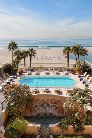 A blissful morning in Santa Monica at the Hotel Casa Del Mar.