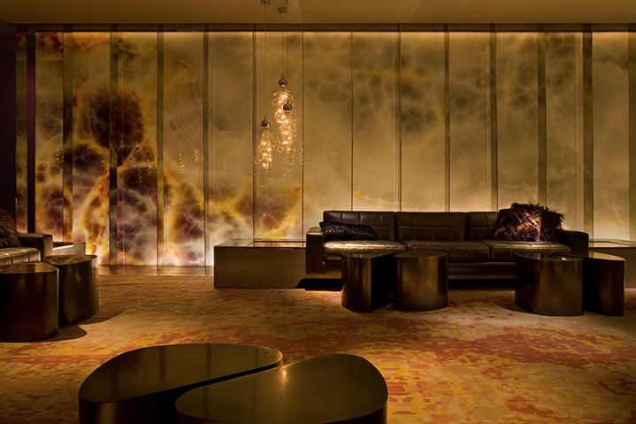 The lobby at the Andaz