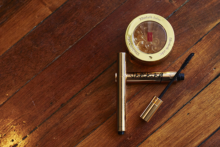 Oh high rotation; a swipe of YSL's Shocking Mascara and dab of Touche Eclat make for bikini-ready beauty