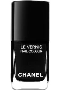Chanel Le Vernis in Black Satin