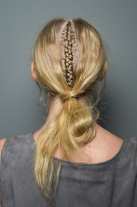Edgy cornrolls at Jennifer Kate