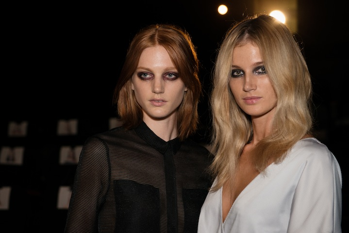 Beauticate loves: Models backstage at Alice McCall. Image by Kelly Geddes.