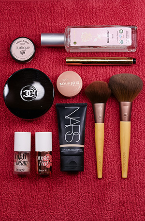 A bevy of beauty; nars, benefit, jurlique bourjois and chanel