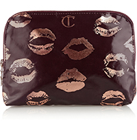 Charlotte Tilbury Signature Coated Twill Makeup Bag  $44
