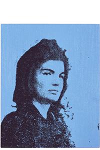 BLUE JACKIE, ANDY WARHOL