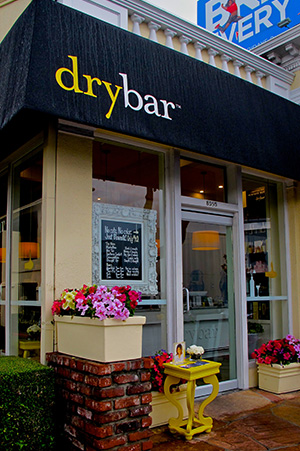 Dry bar offers $40 blowdries