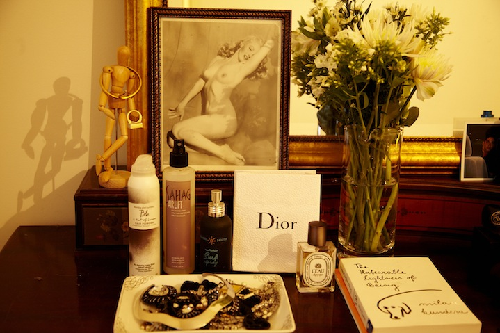 Dry shampoo and Dior - treasured essentials