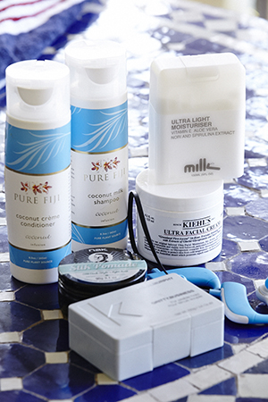 in his kit: milk for men, pure fiji and kevin murphy rough rider