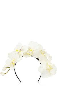 Piers Atkinson's Orchid Silk Headband