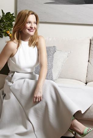 Mel wears Maticevski skirt and Keepsake dress
