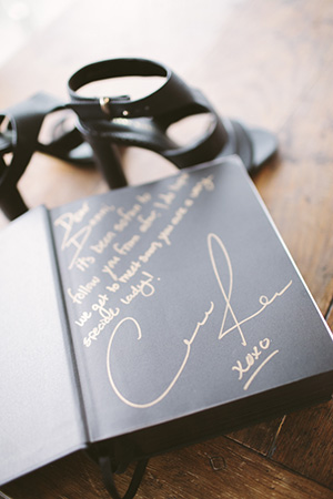 her personalised copy from model coco rocha