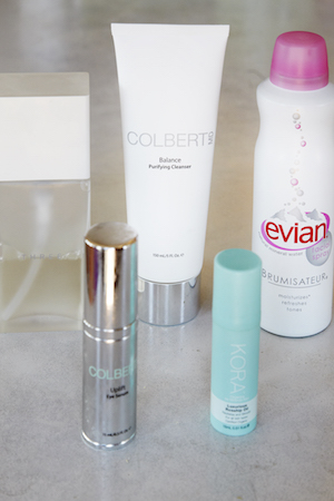 Other than positivity and confidence, Elyse counts on Dr. Colbert products to keep her skin glowing