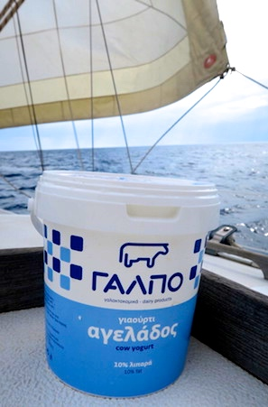 Greek yoghurt makes a great mask