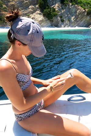 some beauty treatments can be done in the ocean
