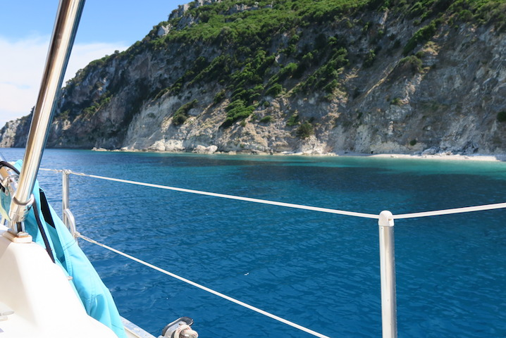 The impossibly blue waters of the Greek Islands
