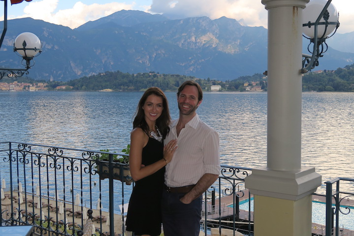 Dinner at La Terraza at The Grand Hotel Tremezzo
