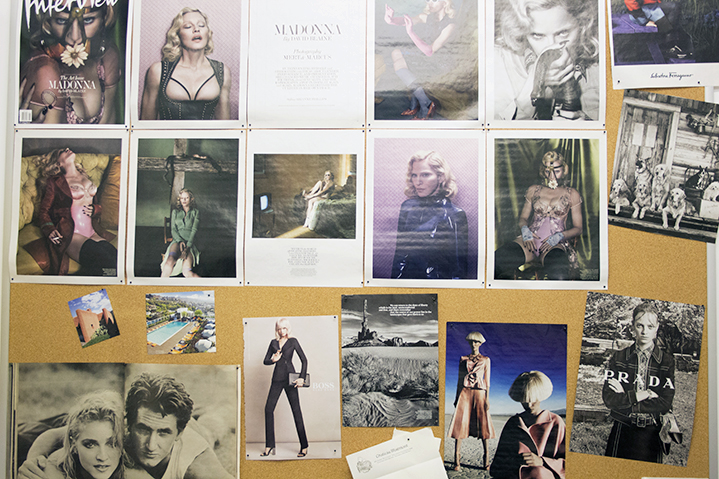 Mad for the Material Girl; The Great Wall of Madonna and other snippets of editorial inspiration