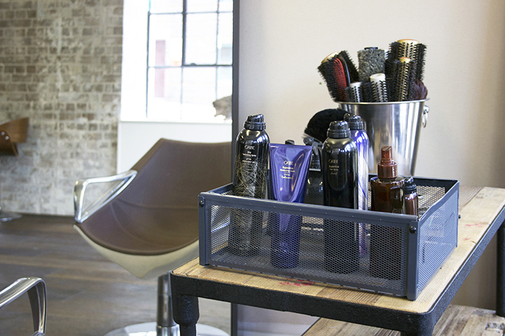 Polished prep; hair essentials at RAW include lavish brand Oribe and meticulously well-kept brushes