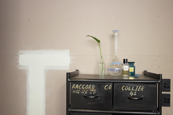 Stylish surroundings; raw, industrial furnishings house Anthony's favourite fragrances