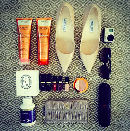 megan's cannes essentials include l'oreal expertise haircare