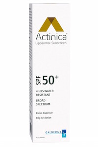 Actinica Broad Spectrum Lotion spf 50+ (30 no longer availble)