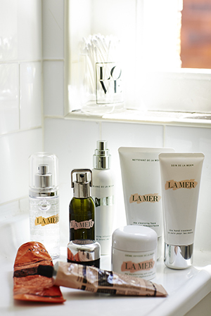 lucky lady; a devotee to la mer for skin