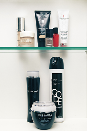 Her favourite foundations and hair products from Dessange