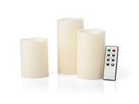 Real Safe Candles Ivory Gift Set