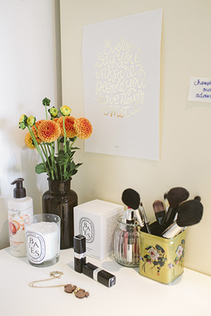 blooming beauty: connie's treasured items