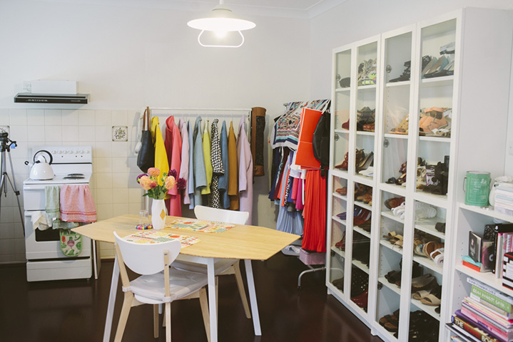 Connie and her sister have a separate kitchenette and living area in their family home