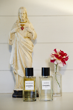 french delights; chanel and jesus christ from a flea market