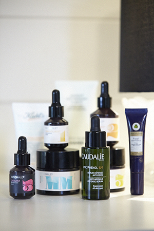 skincare saviours include sans [ceuticals], rationale and kiehl's