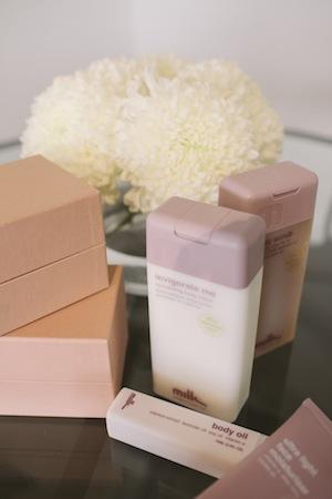 a pretty pink sea;milk & co andmiu miu boxes