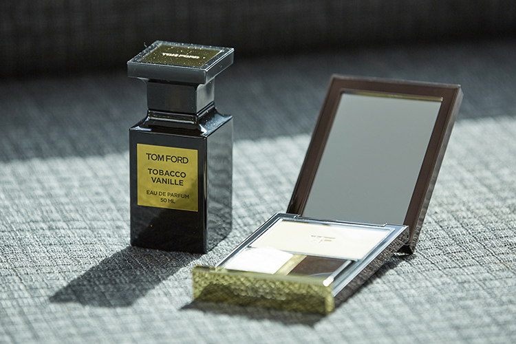 Opulent tastes with Tom Ford for both fragrance and makeup