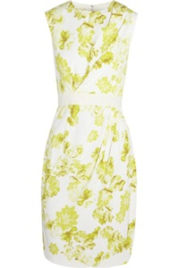 Giambattista Valli Floral Print Dress