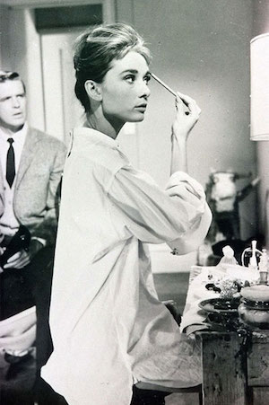 Audrey at work