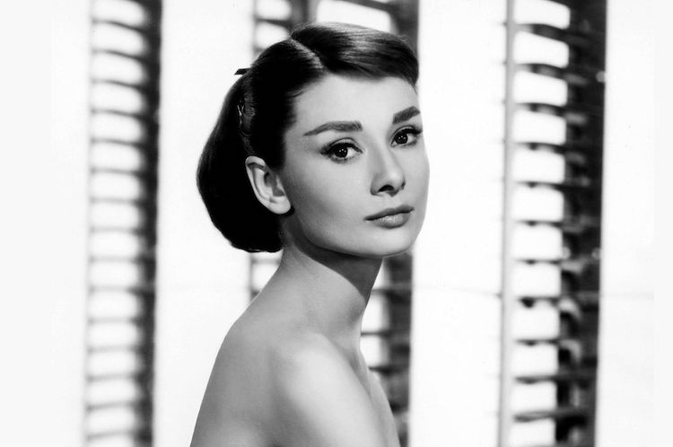 Audrey as Sabrina in the 1954 film