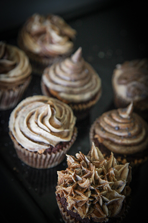 Chaga Mushroom Cupcakes  from Hyperion Herbs make a scrumptious treat suitable for any tea party