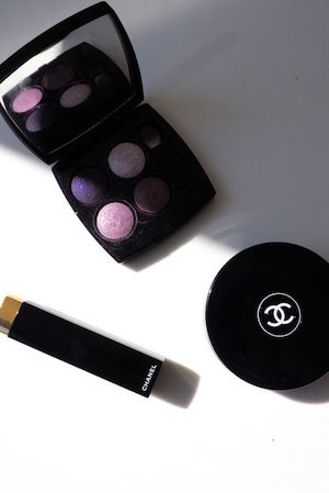emma keeps chanel compacts at the ready