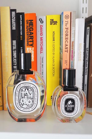 Diptyque fragrances are among her favourite