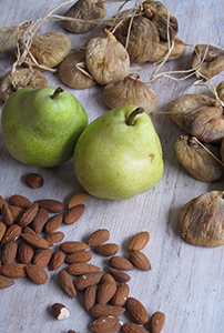 keep healthy snacks such as fruits and nuts visible in the fridge or cupboard. photo by  josie taylor .