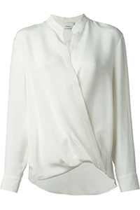 Phillip Lim Draped Wrap Blouse , $462.40