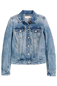 H&M Denim Jacket, $49.95 , available in store only