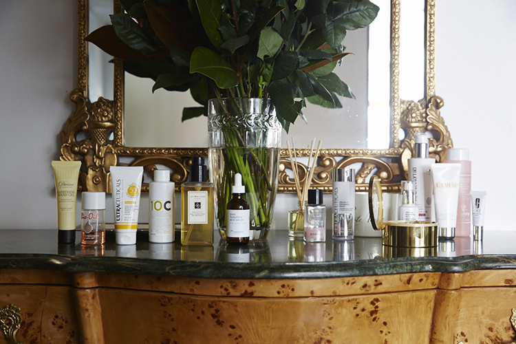 Bahar's carefully curated beauty stash