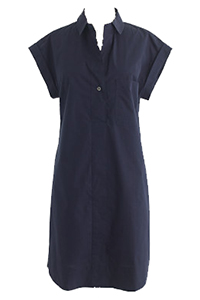 J Crew Short Sleeve Cotton Shirtdress $178.90