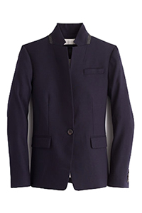 J Crew Regent Blazer with Satin Lapel, $416.20