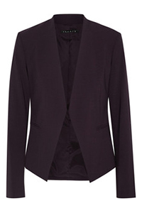 Theory Lanai Stretch-Crepe Blazer, $312.95